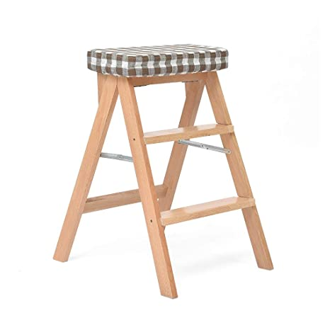 Fine Amazon Com Qiao Small Bench Ladder Stool Folding Detachable Onthecornerstone Fun Painted Chair Ideas Images Onthecornerstoneorg