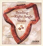 img - for Beading with Right Angle Weave (Beadwork How-To) book / textbook / text book