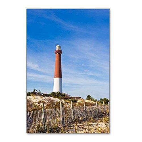 Old Postcard Lighthouse (CafePress - Barnegat Lighthouse - Postcards (Package of 8), 6