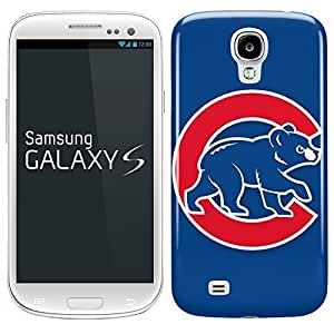 Samsung Galaxy S5 Hard Case Cover - Sports team Chicago Cubs Bear Blue