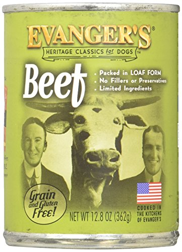 Cheap Evanger's All Natural Classic Beef Canned Dog Food – 12.8 oz. (Set of 12)