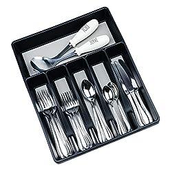 Kitchen Galashield Silverware Organizer for Kitchen Drawers Flatware Utensils and Cutlery Tray silverware organizers