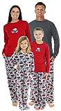 SleepytimePjs Family Matching Holiday Fleece Pajamas PJs Sets for The Family
