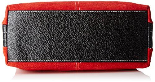 Borsa L a Mano H W 32x20x14 Donna Rosso Chicca x cm x 10028 Borse qRCw7E