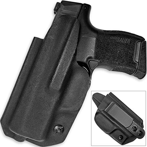 Sig P365 Kydex Holster Adjustable Height & Angle Tuckable Clip IWB
