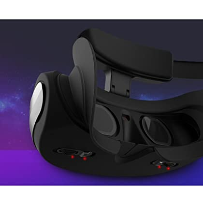 0f94b3bbb397 ... With Eye Protection VR Headset 3D Glasses 360 HD Viewing Immersive  Virtual Reality Helmet Video Game