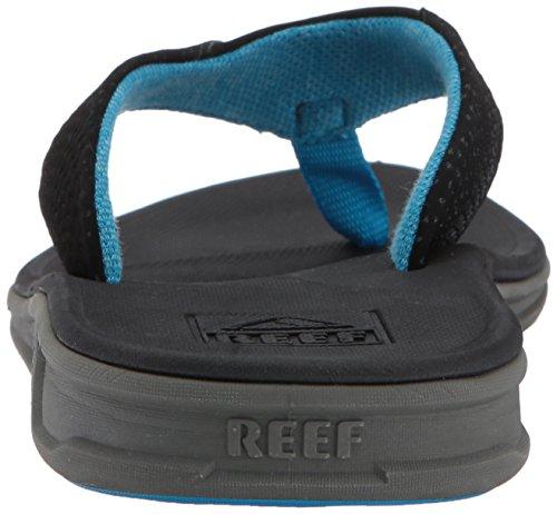 Reef Uomo Rover Flip Flop Nero / Blu