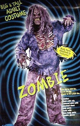 Zombie Costume Plus Size (Big And Tall Man Halloween Costumes)
