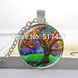 starbucks christmas blend k cups - Pretty Lee 2015 New Fashion Glass Art Picture Necklace Retro Tree Of Life Necklace Life Tree Pendant Necklace Glass Dome Pendant Necklace