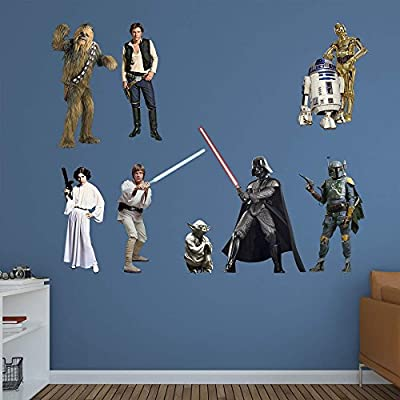 Fathead Star Wars Original Trilogy Characters Wall Decal Collection