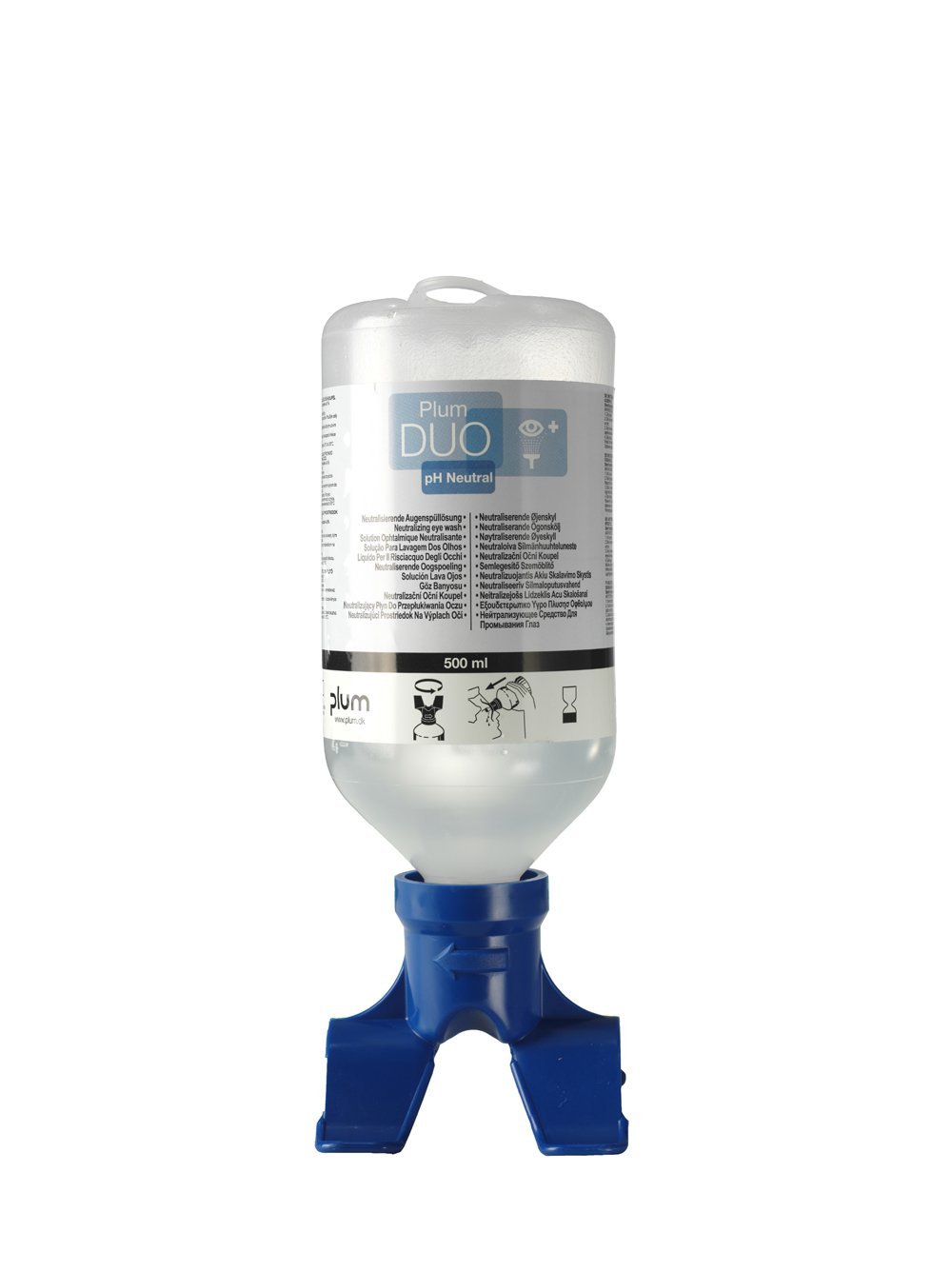 Plum 500ml pH Neutral Buffer Eyewash Solution 48018