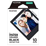 Fujifilm Instax Square Black Film - 10 Exposures
