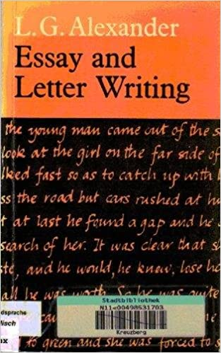 Essay and letter writing book