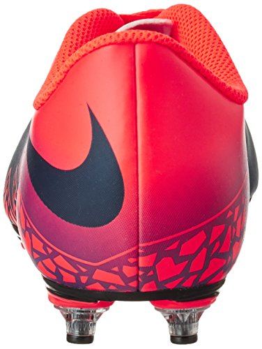 Nike 768907-845, Botas De Fútbol Unisex Adulto Naranja (Total Crimson / Obsidian-Vivid Purple)