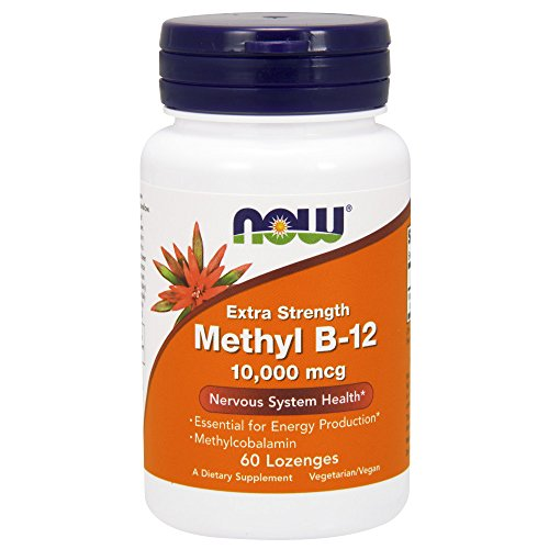 NOW Methyl B-12 10,000 mcg,60 Lozenges