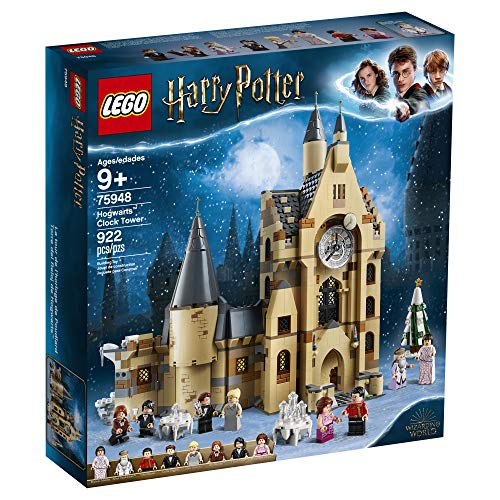LEGO Harry Potter Hogwarts Clock Tower 75948 Build and Play Tower Set with Harry Potter Minifigures, Popular Harry…