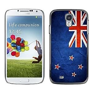 Shell-Star ( National Flag Series-New Zealand ) Snap On Hard Protective Case For Samsung Galaxy S4 IV (I9500 / I9505 / I9505G) / SGH-i337