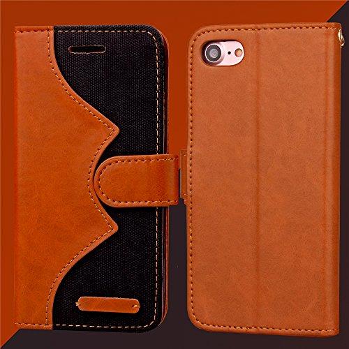 Funda Libro para iPhone 8,Manyip Suave PU Leather Cuero Con Flip Cover, Cierre Magnético, Función de Soporte,Billetera Case con Tapa para Tarjetas, Funda iPhone 8 A