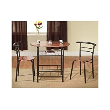 Amazoncom Bistro Table Set Indoor For  Kitchen Small Kitchen - Bistro table set