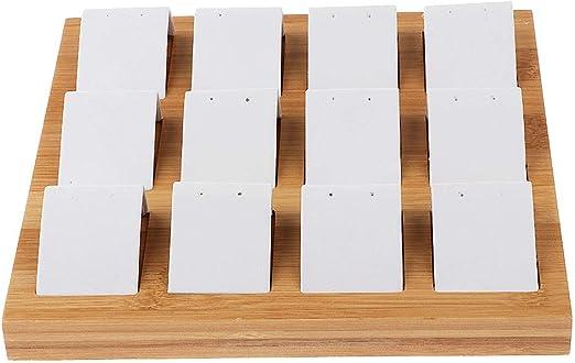 Tubayia 12 compartimentos de madera para joyas, joyas, expositores ...