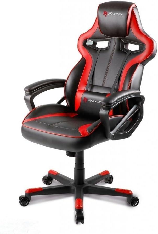 Arozzi Milano Enhanced Gaming Chair, Red