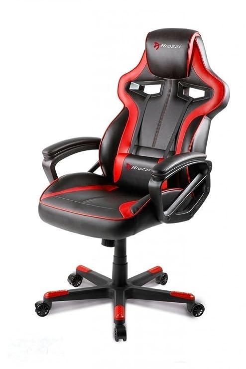 Awe Inspiring Arozzi Milano Enhanced Gaming Chair Red Pdpeps Interior Chair Design Pdpepsorg