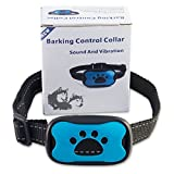[Newest Design] NO SHOCK Anti-Bark Dog Collar, Extremely Automatic Effective humane 100% Safe No Pain Vibrant Sound Stimuli Training Tool for Small Medium Large Dog under 50 pounds Excessive Barking For Sale
