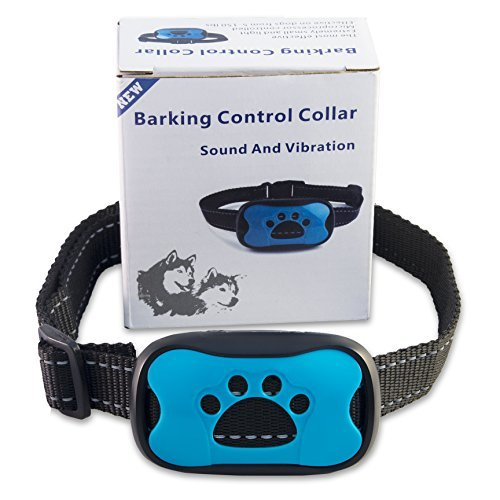 [Newest Design] NO SHOCK Anti-Bark Dog Collar, Extremely Automatic Effective humane 100% Safe No Pain Vibrant Sound Stimuli Training Tool for Small Medium Large Dog under 50 pounds Excessive Barking Dog Bark Control Reviews