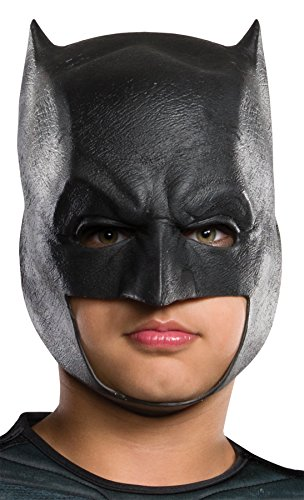 UHC Dc Comics Dawn Of Justice Batman Child Halloween Costume Mask (Black Person Halloween Costume)
