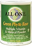 All One Nutritech Green Phyto Base Multiple Vitamin and Mineral Powder -- 2.2 lbs - 3PC