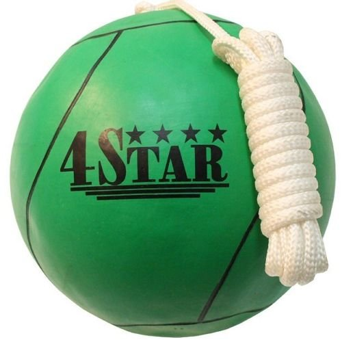 OFFICIAL TETHER BALL GREEN w/ ROPE INCLUDED Outdoor Sports Playground Tetherball by BestSeller989