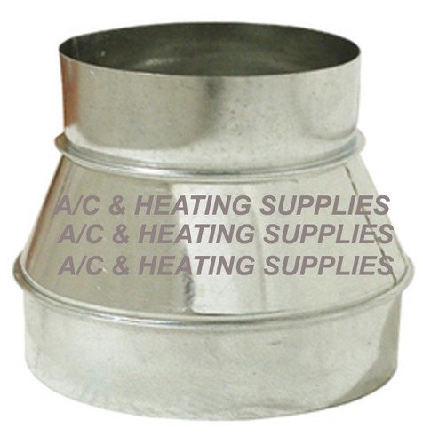 (Single Wall Galvanized Metal Duct Reducer 7