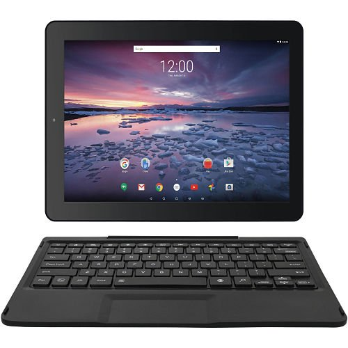 """Pro12 with WiFi 12.2"""" 2-in-1 Touchscreen Tablet PC Featuring Android 6.0 (Marshmallow) Operating System, Black"""