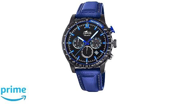 7f9299ef73ca Reloj Lotus caballero crono 18588 2  Amazon.es  Relojes