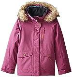 Roxy Big Girls' Tribe Snow Jacket, Magenta Purple, 8/Small