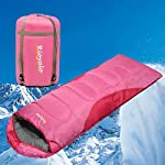 0 Degree Winter Sleeping Bag For Camping 350GSM Temp Range 5F32F Portable Waterproof With Compression Sack Camping Sleeping Bags For Big And Tall In Env Hoodie For Backpacking Hiking 4 Season