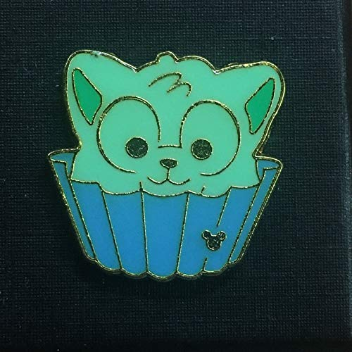GELATONI (127854-2018) Hong Kong Disneyland from Carnival 2018 Game Pins set. A HIDDEN MICKEY official DISNEY PARK trading pin. The front of these special pins have a small Mickey Mouse icon hidden in the artwork. The back of the pin has a silver-colored stamped box indicating the pin is a Hidden Mickey pin, fully tradable at any Disney Park or Store from a Disney cast member. PN05