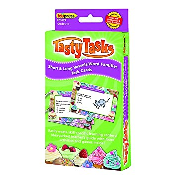 Amazon.com: Edupress Short and Long Vowels/Word Families Tasty ...