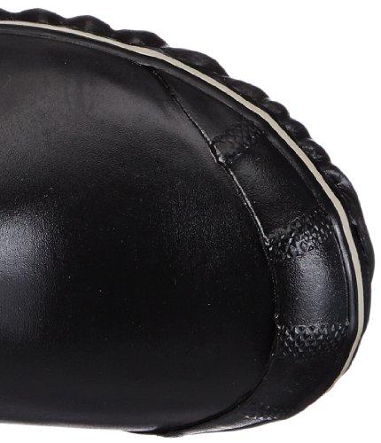 negro botas Schwarz 010 goma sin Silver de Sorel CARLY mujer cordones Black Sage CONQUEST GLOW zwv0fqt4