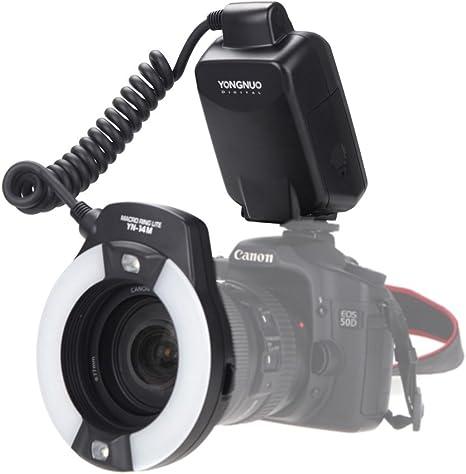 Yongnuo YN-14M Macro anillo LITE Flash Speedlite para cámara ...