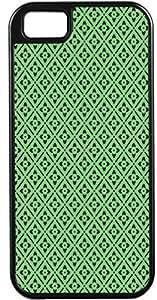 LJF phone case Blueberry Design iPhone 4 4S Case Cover Green Background Black Illustrations
