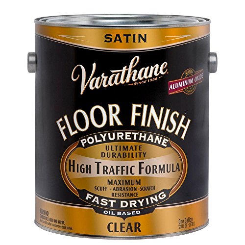 - 1-gal. Clear Satin 275 VOC Oil-Based Floor Finish Polyurethane (2-Pack)