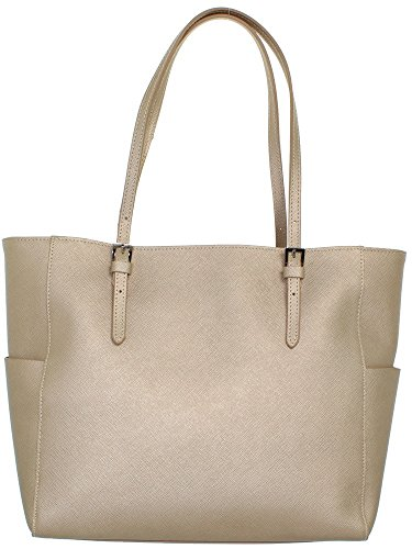 Shopping Bag Lancaster Adele Leder Champagne