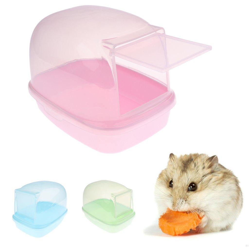 Ferret Bath Pool Chinchilla Degu Pet Dust Sand Bathroom Shower Hamster Mice Rat #2