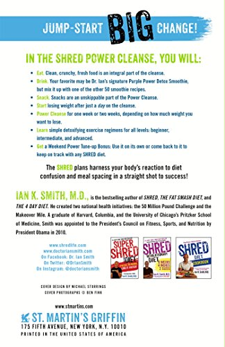 The Shred Power Cleanse Eat Clean Get Lean Burn Fat Import It All