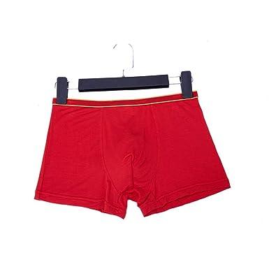 LINANNAN Calzoncillos de Hombre Modal Boxer Cintura Media ...