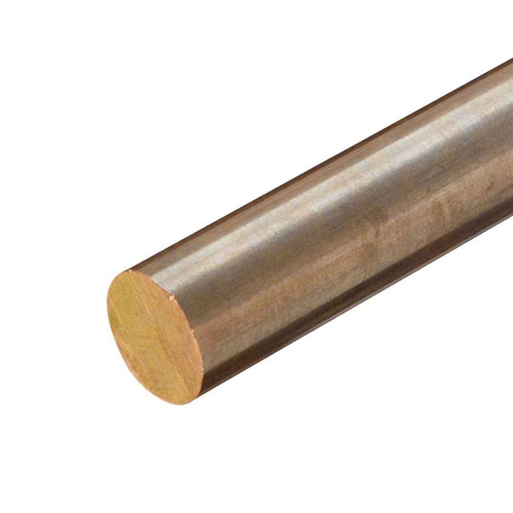 Online Metal Supply C630 Nickel Aluminum Bronze Round Rod, Diameter: 4.750 (4-3/4 inch), Length: 2 inches by Online Metal Supply