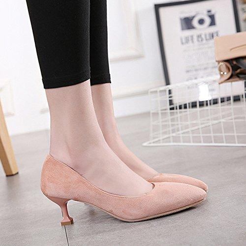 Fashion Comfort Mid Womens Sandals Asakuchi C LJO Pointed Baotou Heels Summer Scarpe 0YHWq