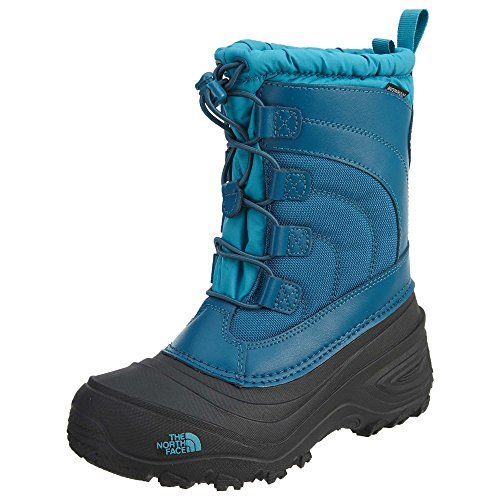The North Face Alpenglow IV Boot, Egyptian Blue/Blizzard Blue, 4 M US Boys