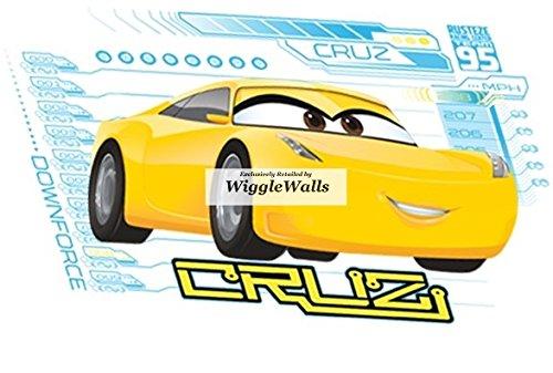 Amazon.com: 6 Inch Cruz Ramirez Wall Decal Sticker Disney Pixar Cars ...